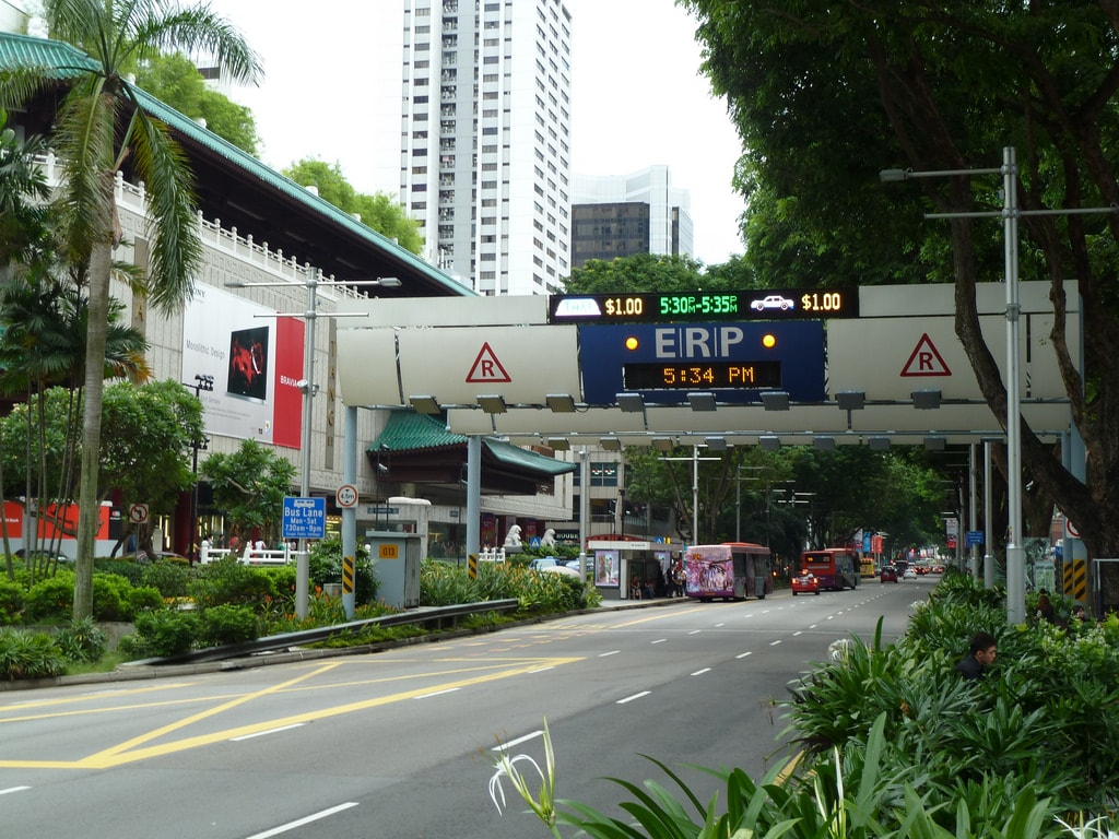 Singapore ERP Gantry at Orchard Road