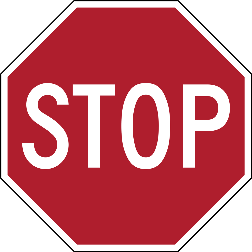 Stop sign|© WikiCommons