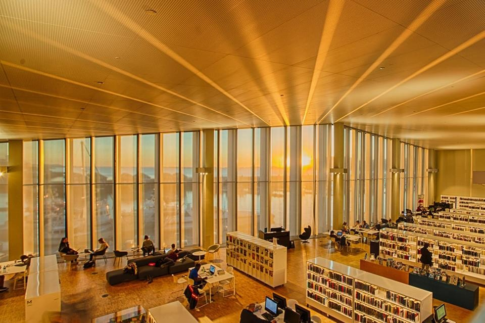 Stormen library interior | Courtesy of Stormen library