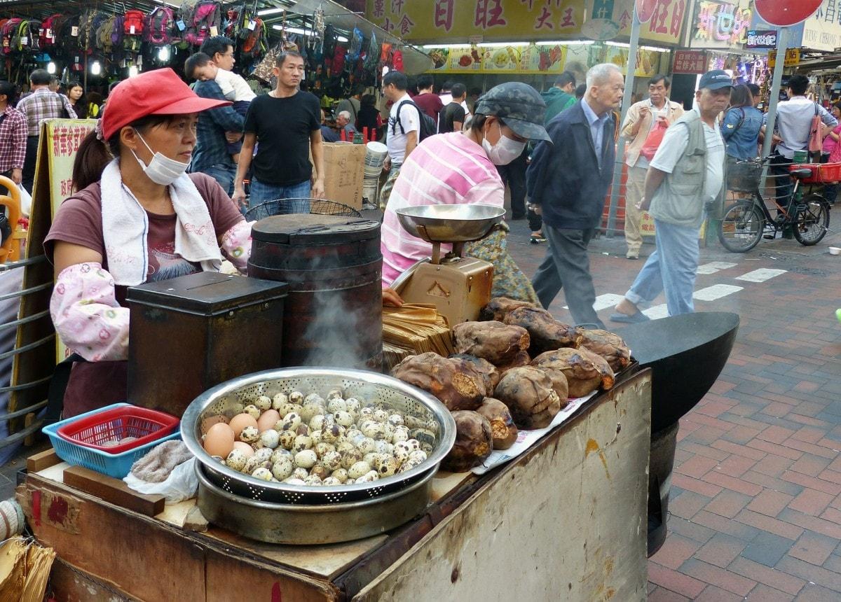 Street Food Mong Kok Hong Kong