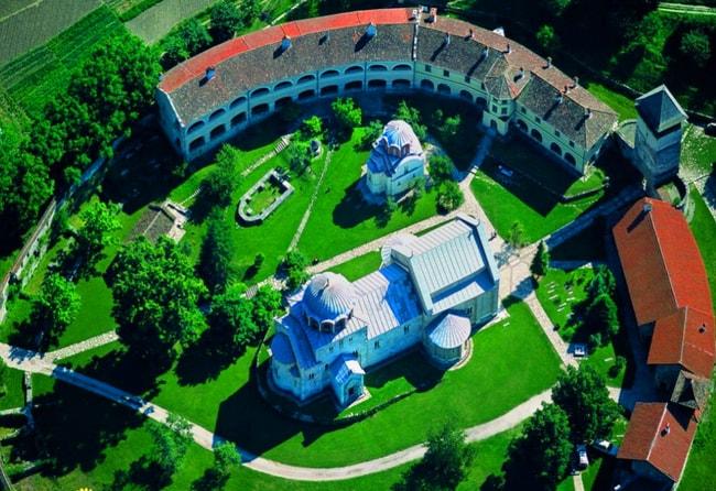 The majestic monastery at Studenica   © Alxadj / WikiMedia Commons