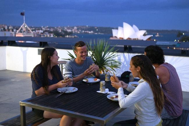 Sydney Harbour YHA rooftop _ Courtesy of YHA Australia (1)