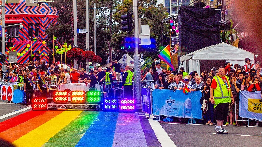 Sydney Mardi Gras | © Hasitha Tudugalle_Wikimedia Commons