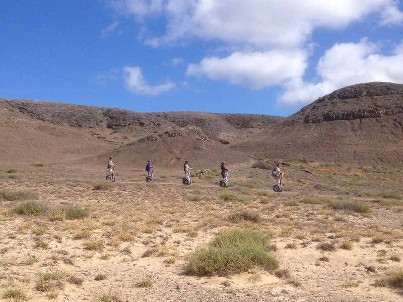 Segway tour | Courtesy of Moving Segway Lanzarote