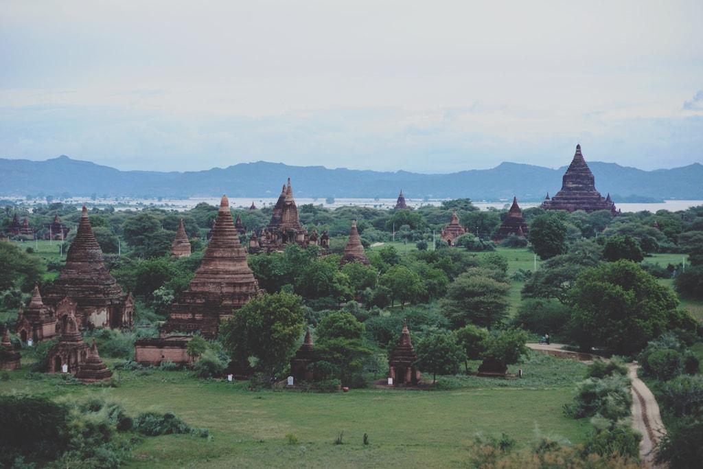 Temples-in-Bagan-Myanmar