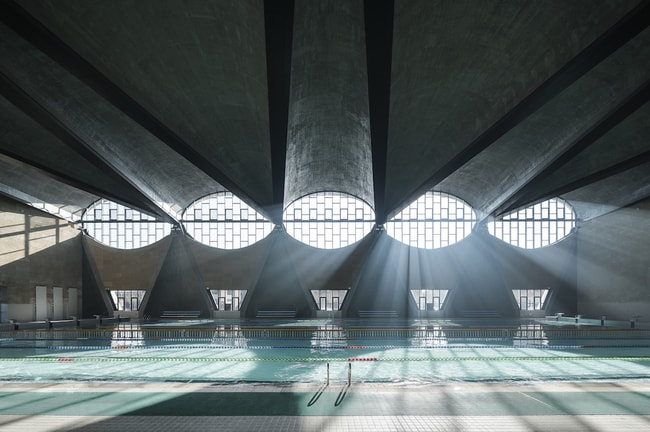 Swimming Pool, New Campus of Tianjin University, China by Atelier Li Xinggang