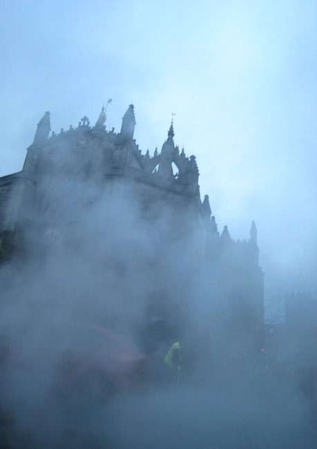 The Ghost of St Giles | © Paul Downey / Flickr
