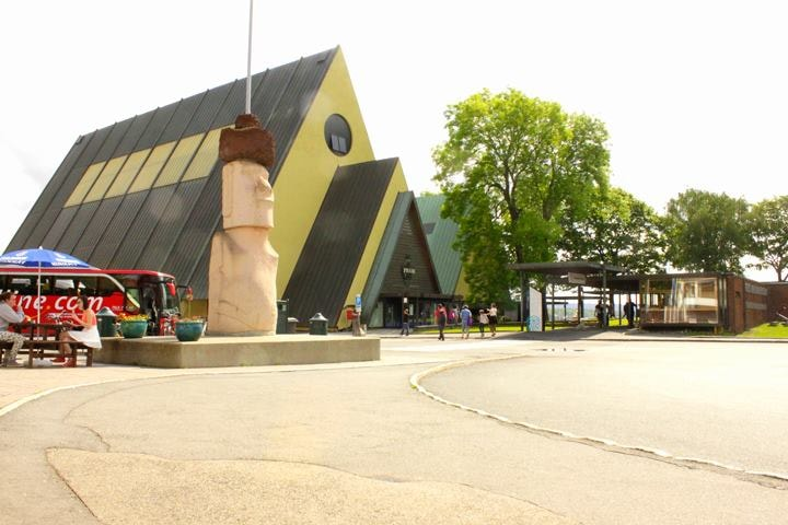 The Kon-Tiki Museum exterior | Courtesy of The Kon-Tiki Museum
