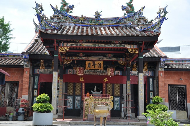 The main shrine of Snake Temple