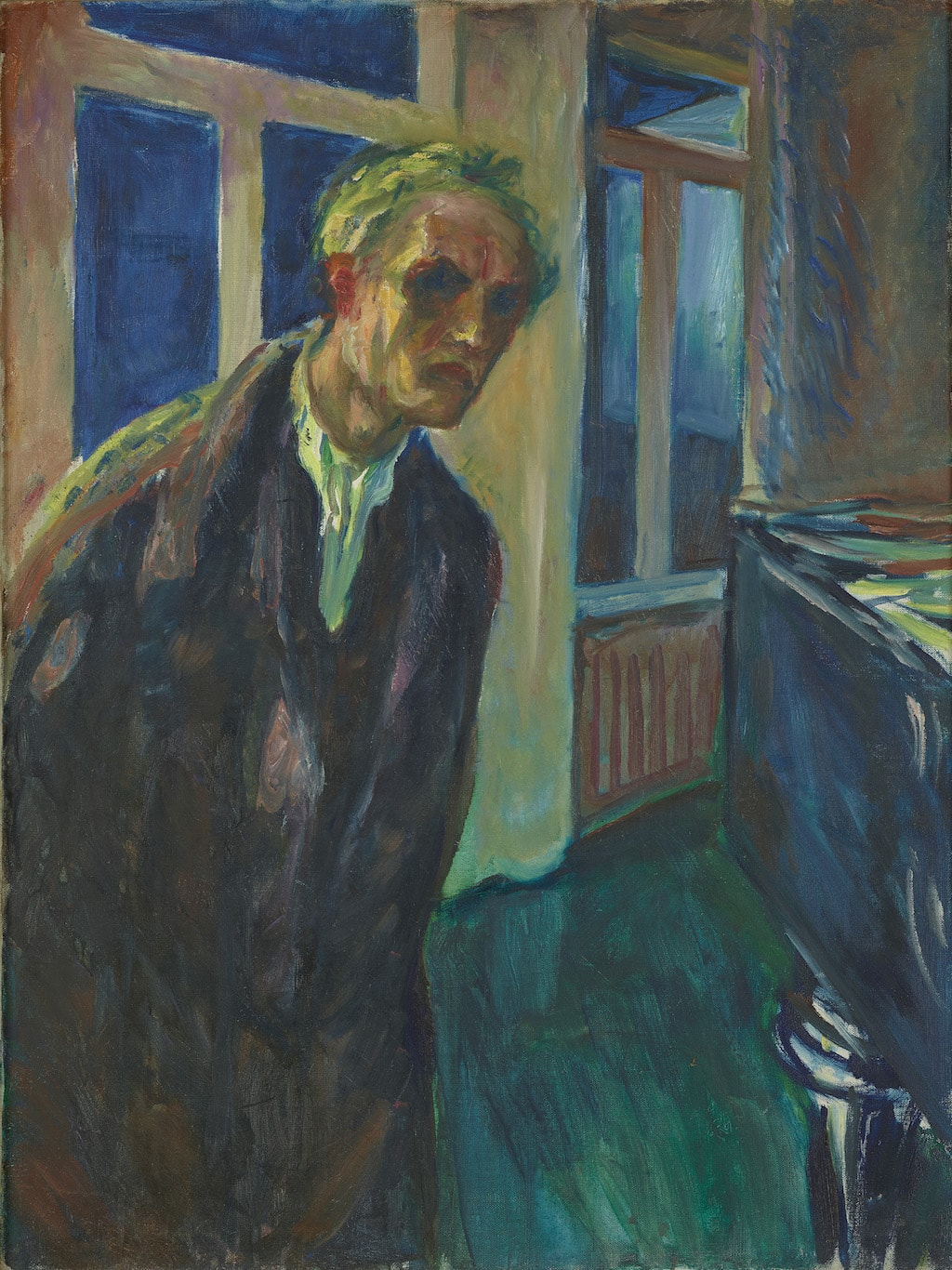 Edvard Munch, 'The Night Wanderer', 1923–1924 | © 2017 Artists Rights Society (ARS), New York / Munch Museum