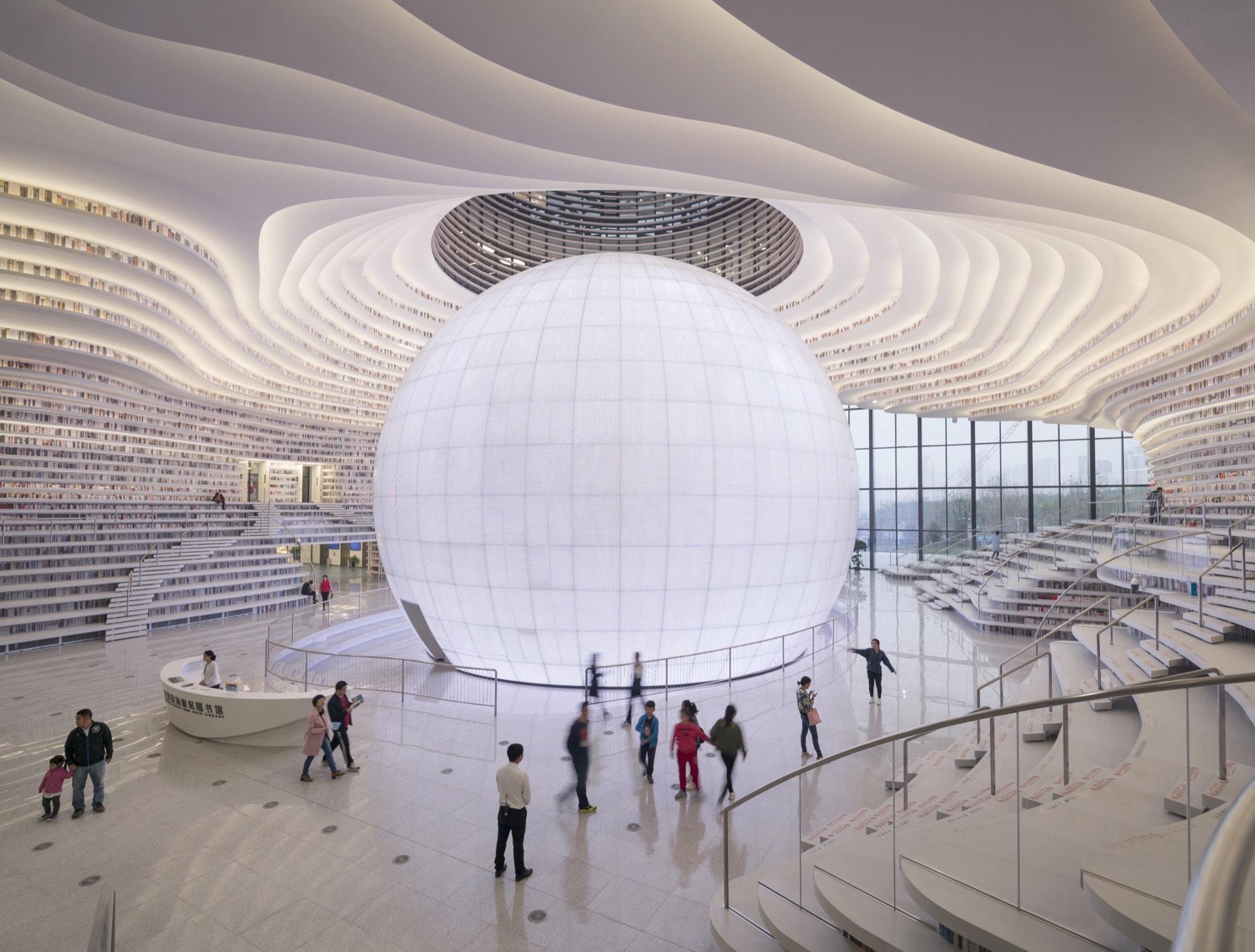 Tianjin Binhai Library China 2