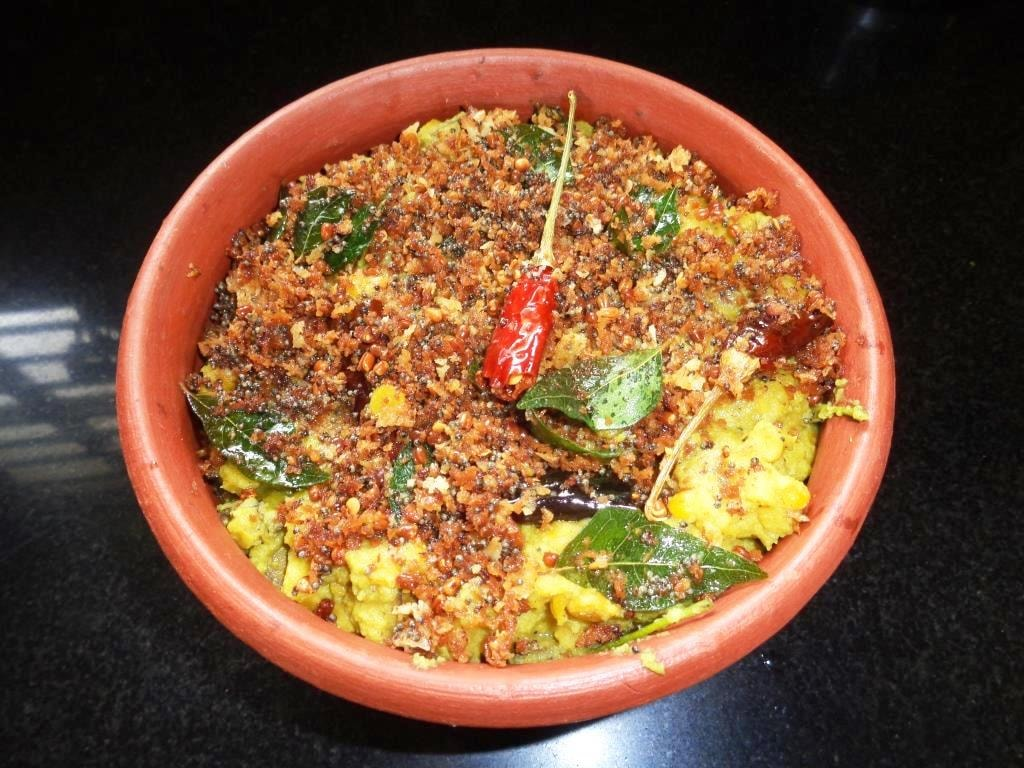 Traditional Koottu Curry of Kerala