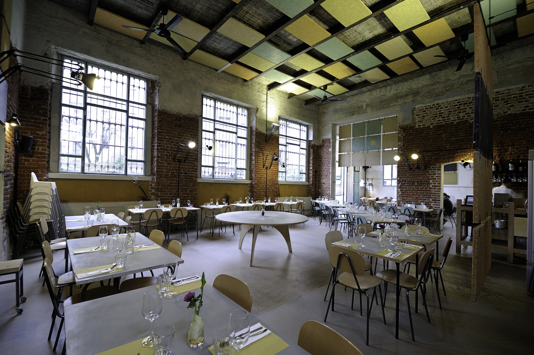 The restaurant at Un Posto a Milano | Courtesy Un Posto a Milano