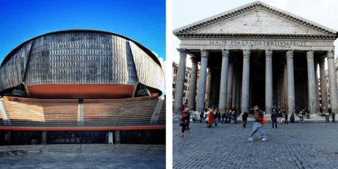 Rome offers a varied bunch of venues including the Auditorium Parco della Musica | © matswaltin/Instagram, Pantheon | © Michael Vadon/Flickr