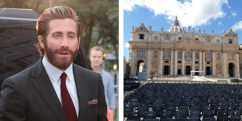 Jake Gyllenhaal | © Gordon Correll/Flickr, Preparations for mass at St Peter's | © Mark Hintsa/Flickr