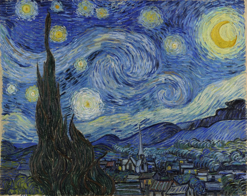 Vincent van Gogh's 1889<em>The Starry Night</em> | Courtesy of The Museum of Modern Art, New York / Acquired through the Lillie P. Bliss Bequest