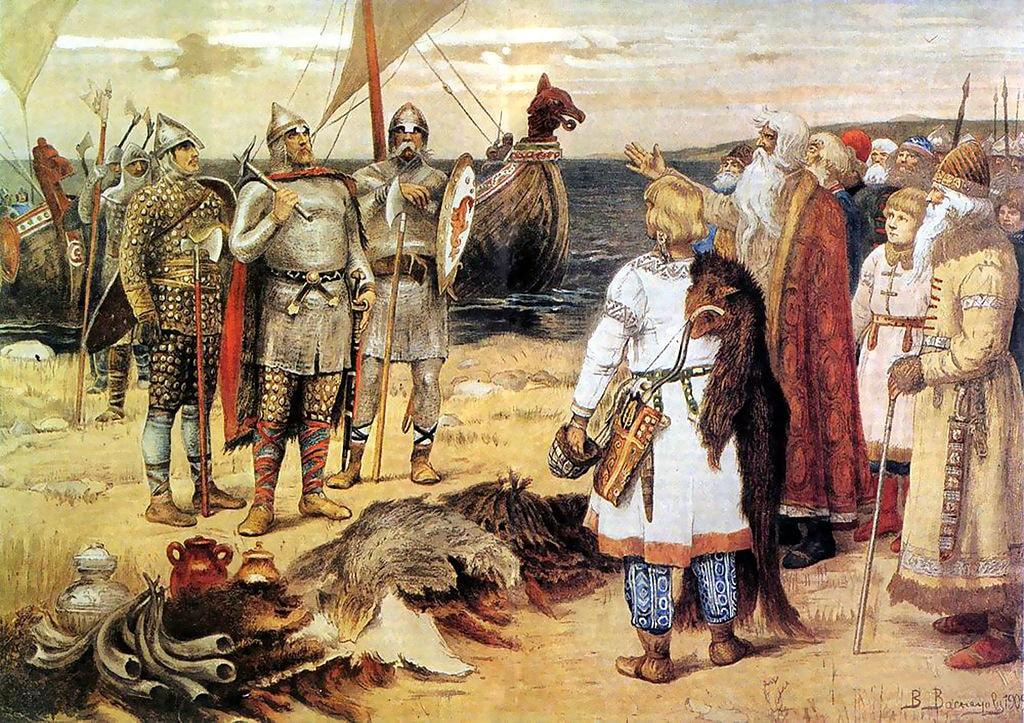 The original Rus', in a painting by Viktor Vasnetsov