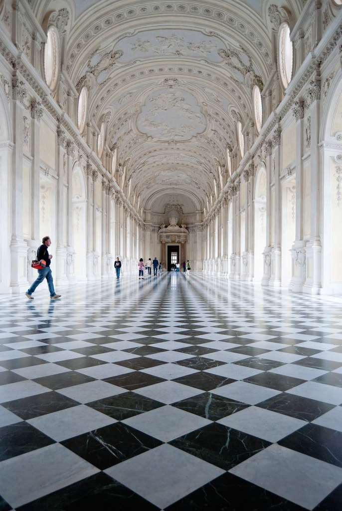 Hall of Diana at La Venaria Reale near Turin | © vince42/Flickr