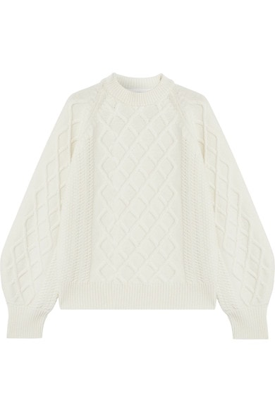 Victoria Beckham cable knit jumper