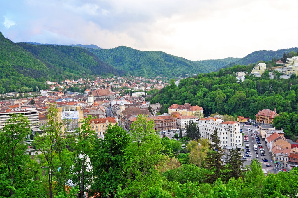 View from the Brasov Citadel