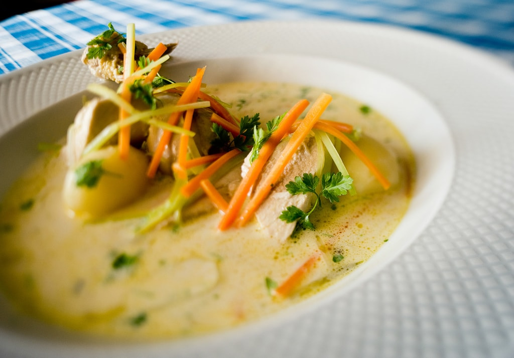 Waterzooi, a typical Belgian comfort dish | courtesy of Visit Ghent