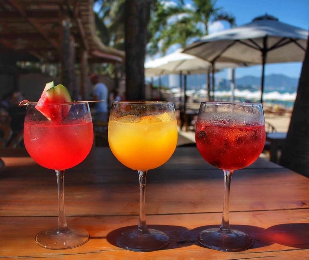 Signature Gin Cocktails | © Sailing Club Nha Trang