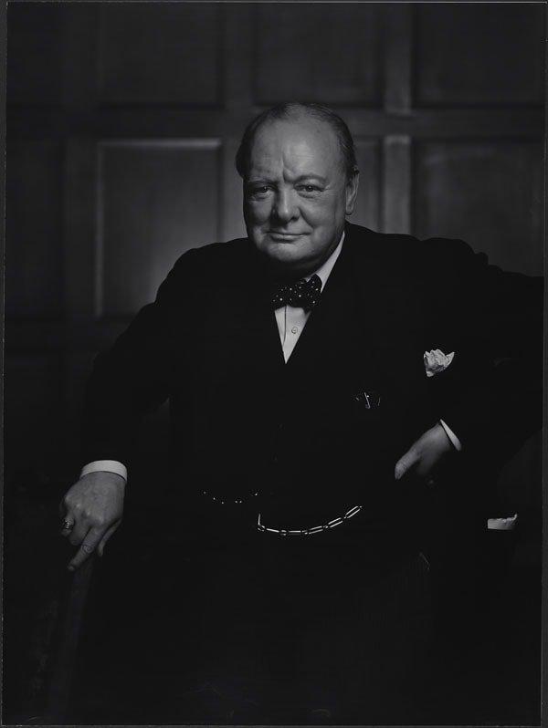 Winston Churchill by Yousuf Karsh, December 1941