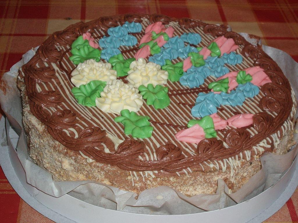 Kiev cake, Ukraine