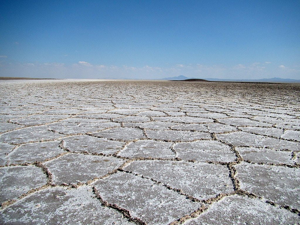 Salt Lake near Qom | © Mostafameraji / Flickr