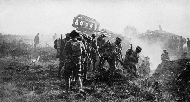 1024px-Collier's_1921_World_War_-_American_soldiers_on_the_way_to_Hindenburg_Line