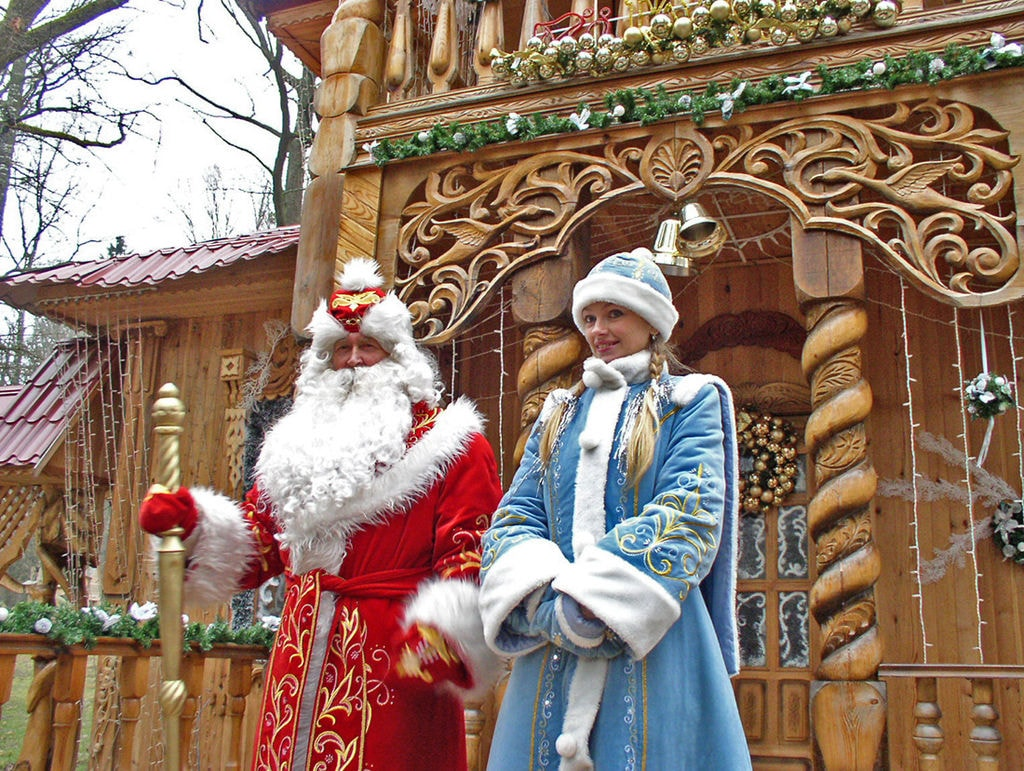 Father Frost and the Snow Maiden | ©Yogi555/Wikimedia Commons