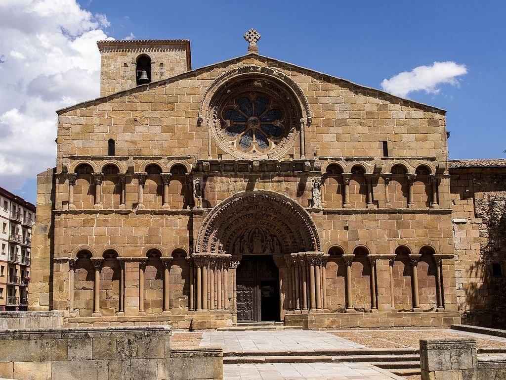 Santo Domingo Church, Soria | ©FRANCIS RAHER / Wikimedia Commons