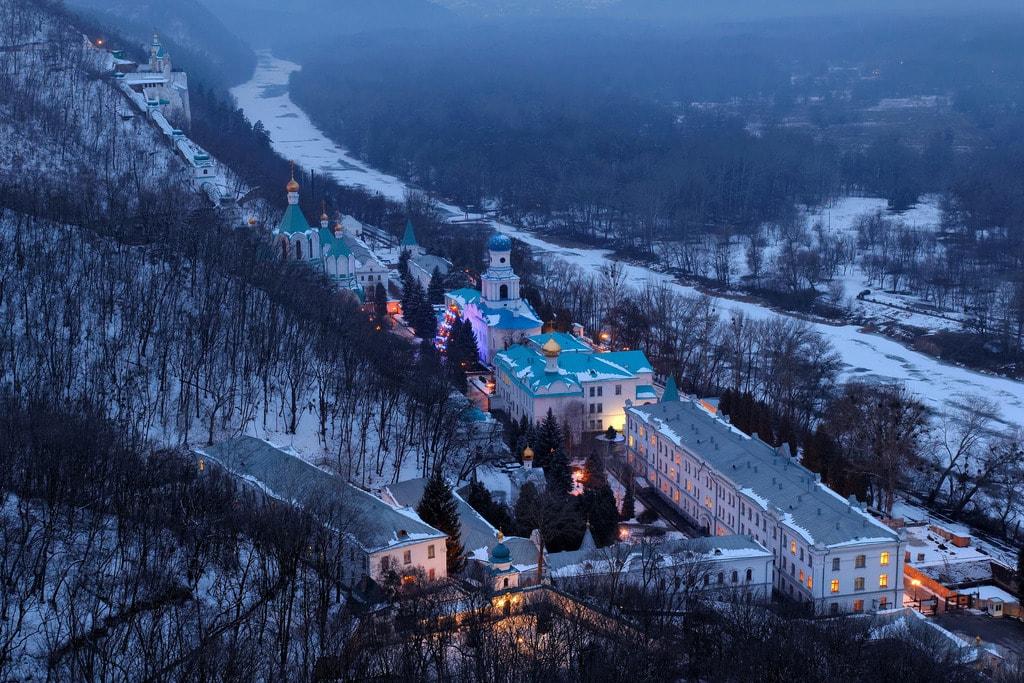 Ukraine, Sviatohirsk Lavra