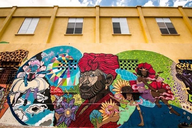 How This One Street Hosts Jamaica's Most Eclectic Street Art
