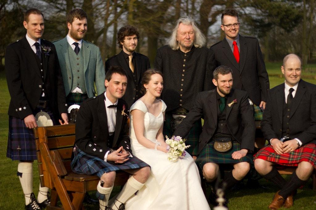 The 10 Most Romantic Scottish Wedding Traditions