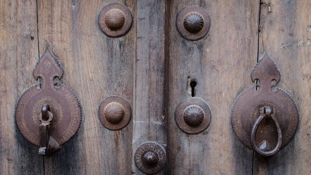 Door knockers of a Muslim household | © Chris Blackhead / Flickr