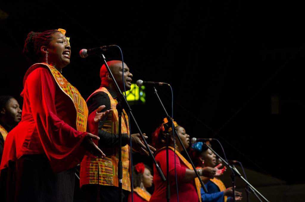 Harlem Gospel Choir in concert in 2014 | © Festival uličnih svirača/Flickr