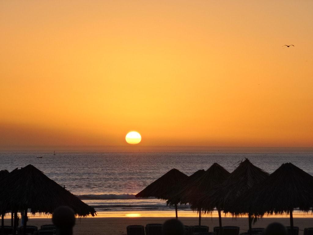 Agadir sunset