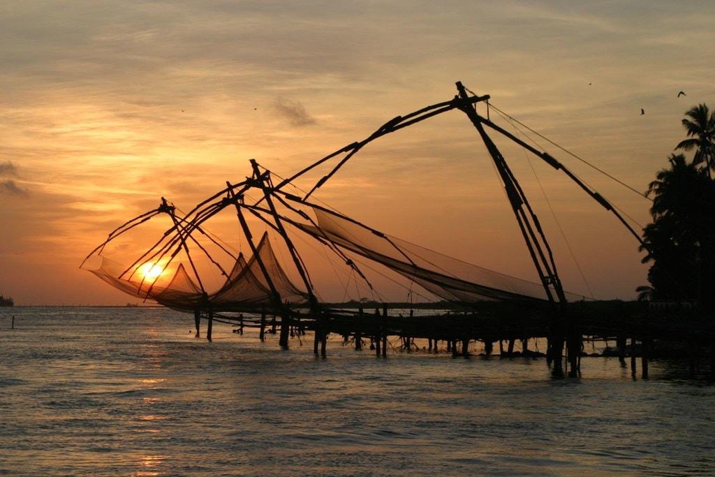 2.fortkochi_sunset