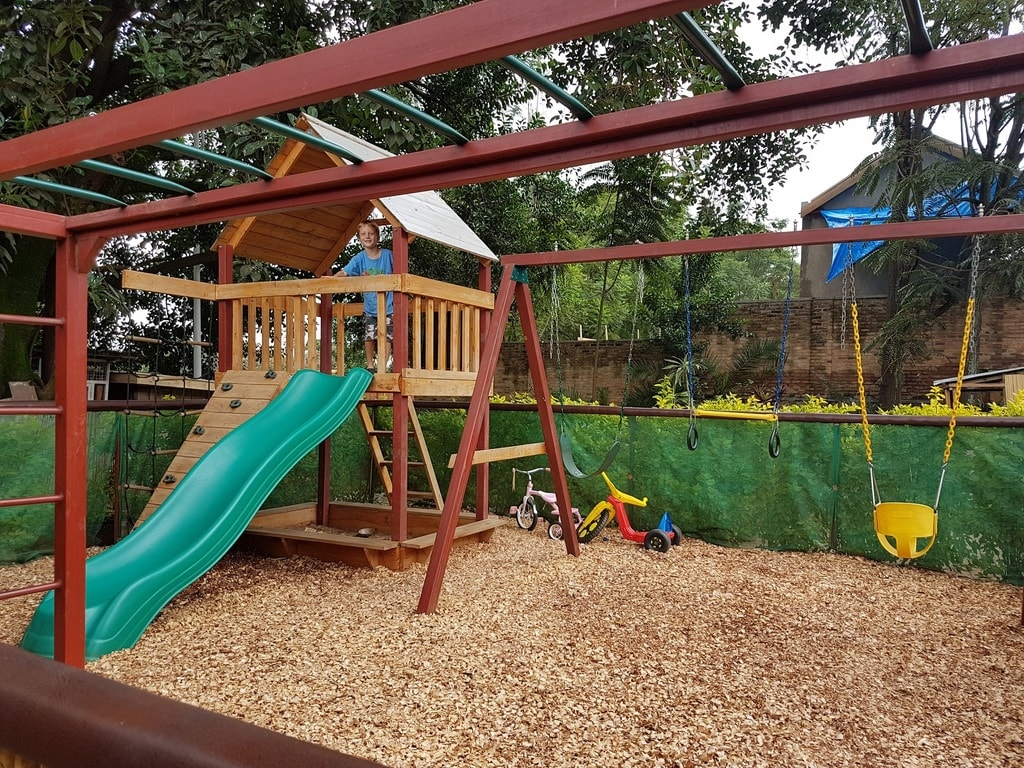 "Head to a restaurant with a playground | <a href=""https://www.facebook.com/askannetterwanda/"">Courtesy of Living in Rwanda – Ask Annette</a>"
