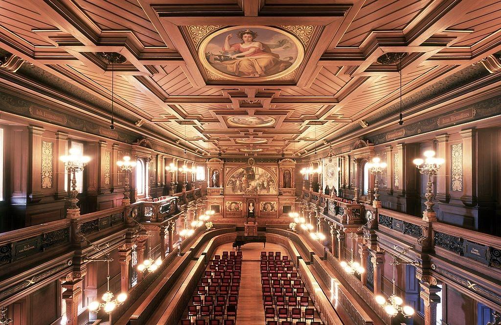 Heidelberg university auditorium