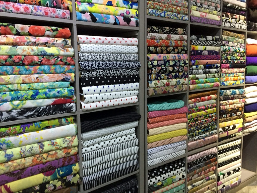 Choose your fabric! | © Bex Walton/Flickr