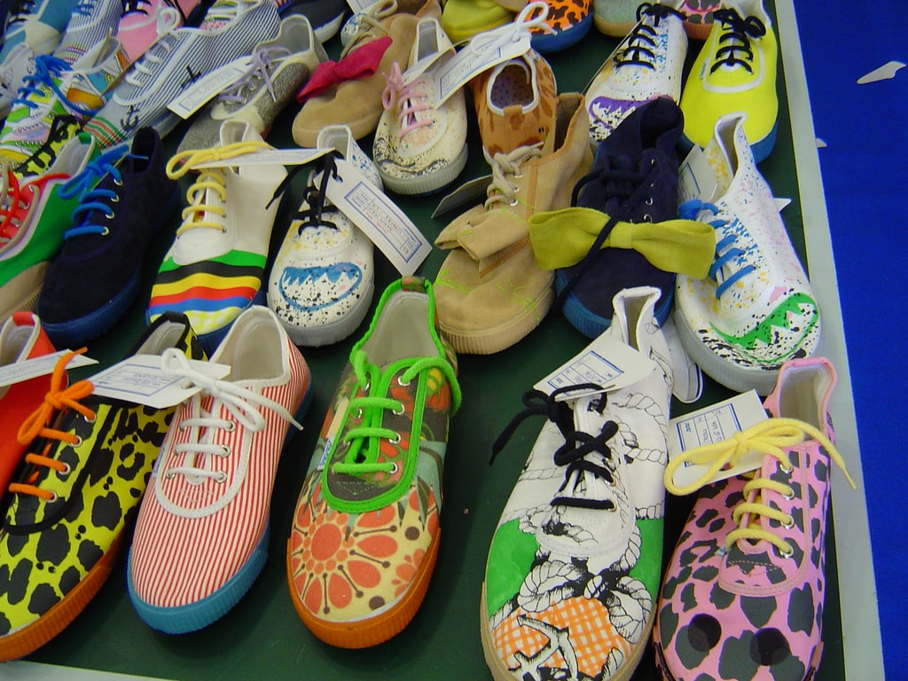 Startas shoes | © Deborah Hustic/Flickr