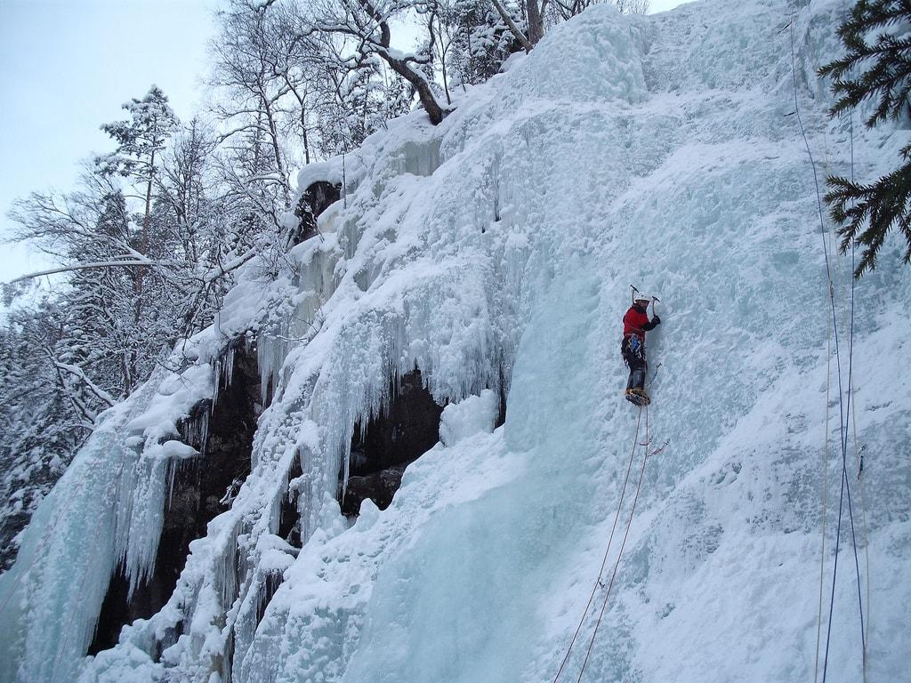 Ice climbing in Rjukan | © subflux / Flickr