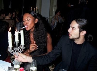 Naomi Campbell And Joaquin Cortes