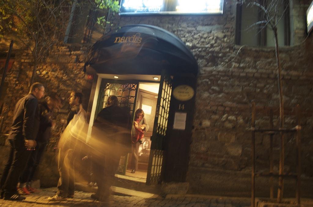 Jazz club Nardis, close to Galata tower