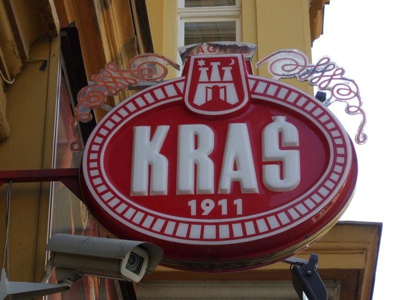 Kraš sign | © Living in Monrovia/Flickr
