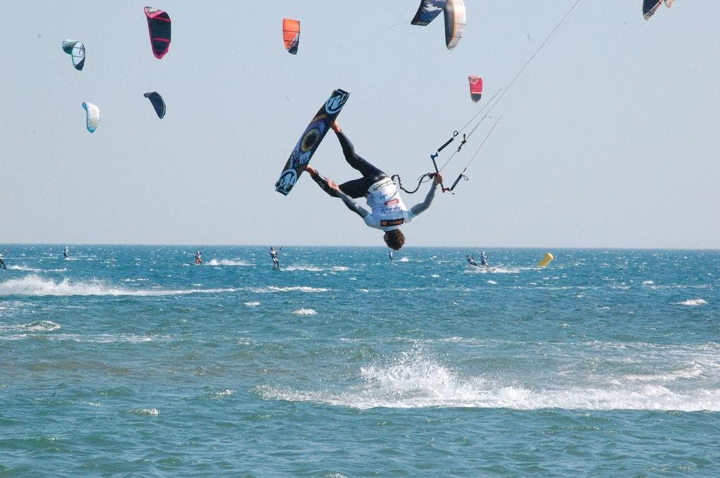 Do a flip! | © Tourisme Leucate/Flickr