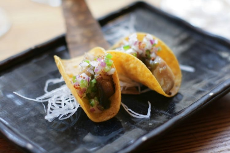 Smoked black cod tacos | © Alexis Lamster/Flickr