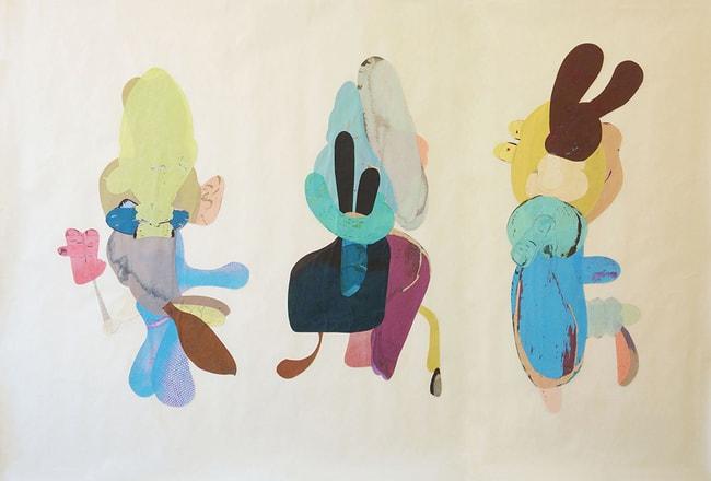 Katja Angeli, 'The Conspirators (II)', 2016 | Courtesy of AucArt